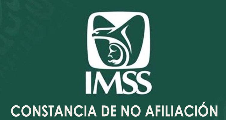 Constancia de no afiliación IMSS